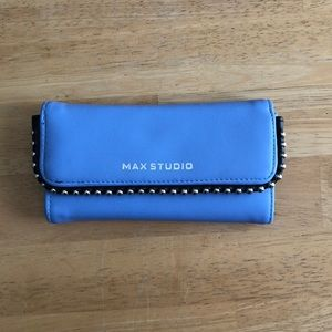 Max Studio Blue Wallet